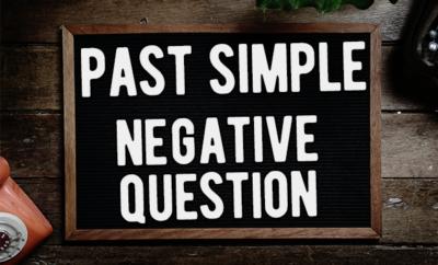 past simple question
