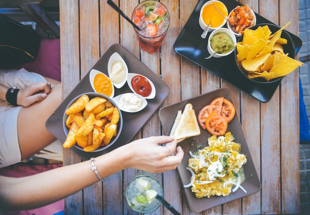 как заказать еду на английском