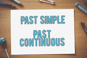 past simple continuous