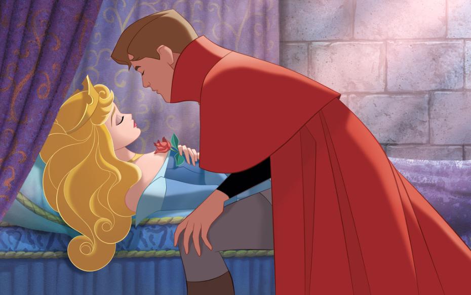 """Сказка для детей """"Спящая красавица"""" – на английском"""