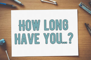 Present perfect - How long have you?