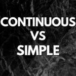 Present Continuous - Present Simple - Отличия